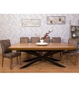 שולחן 2 מטר על מטר נפתח לעוד מטר 356677